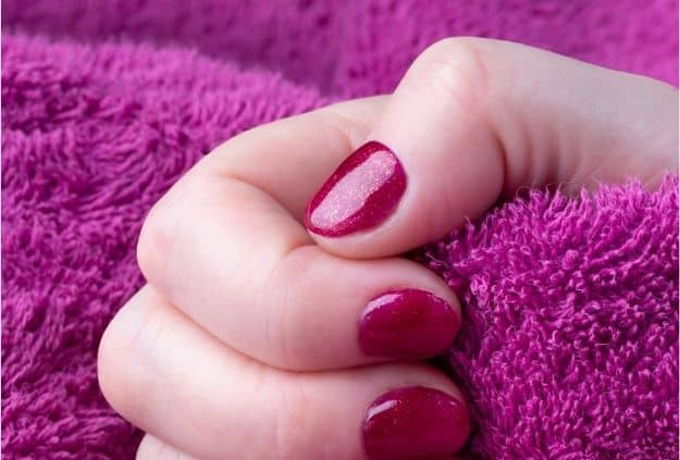 Nails Short and Clean