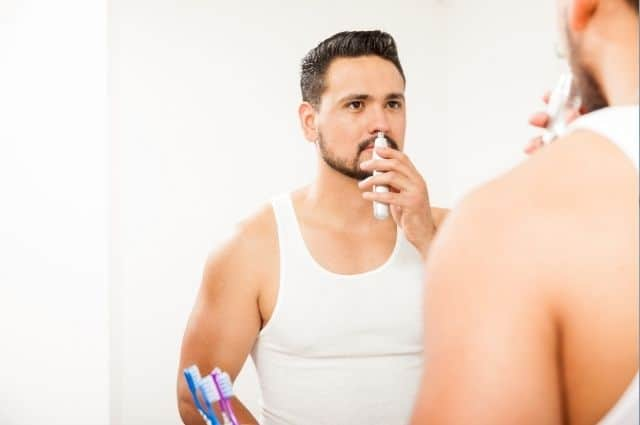 . Trim Your Nose Hair